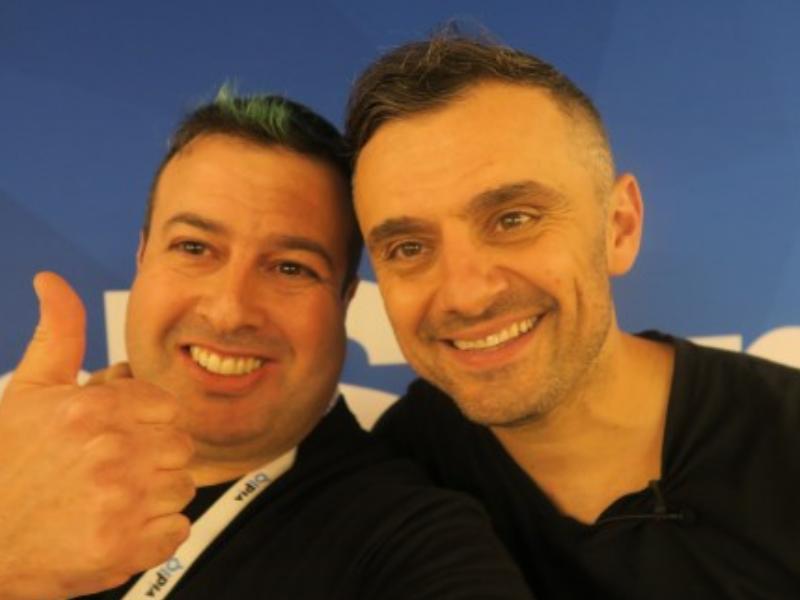 Liron Segev with Gary Vee – CEO of VaynerMedia