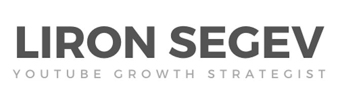 YouTube Growth Strategist - Liron Segev