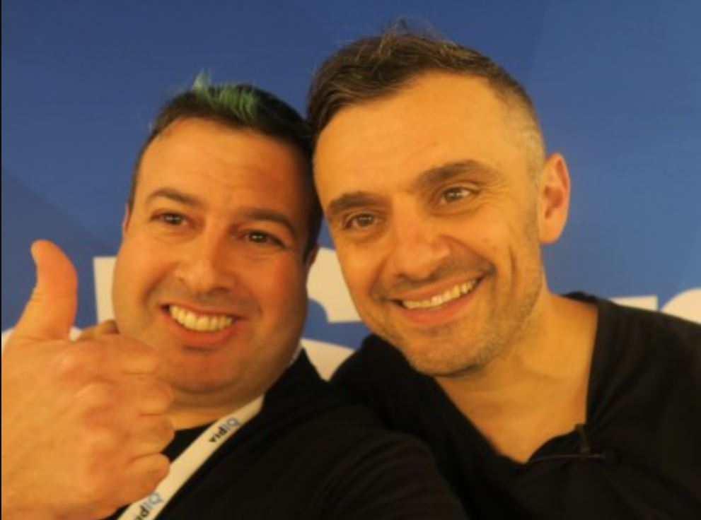 Liron Segev with Gary Vee – CEO of VaynerMedia